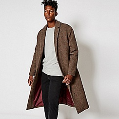 Burton - For jay stone dogtooth crombie coat