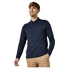 Burton - 1904 fleet navy long sleeve polo shirt