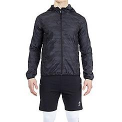 HIIT - Dark grey lightweight camouflage jacket