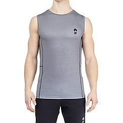 HIIT - Mid grey design lightweight training vest