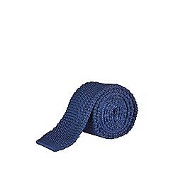 Burton - Navy knitted tie