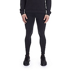 HIIT - Hiit black panelled running tights joggers