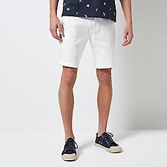 Burton - 1904 Bexhill White Chino Shorts
