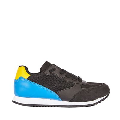 Outfit Kids - Boys' black and yellow running trainers