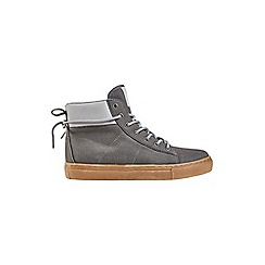 Outfit Kids - Boys' grey hi top trainers
