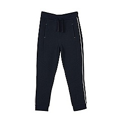 Outfit Kids - Boys' navy textured joggers