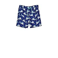 Outfit Kids - Boys' navy shark swim shorts