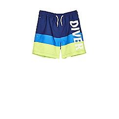 Outfit Kids - Boys' navy diver swim shorts