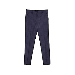 Outfit Kids - Boys' navy check trousers