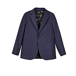 Outfit Kids - Boys' navy check blazer