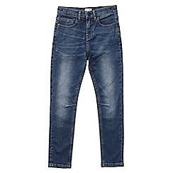 Outfit Kids - Boys' mid blue skinny fit jeans