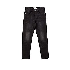 Outfit Kids - Boys' washed black tapered jeans