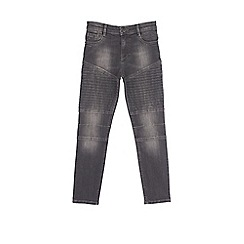 Outfit Kids - Boys' black super skinny jeans
