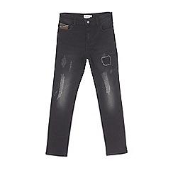 Outfit Kids - Boys' black camo super skinny jeans