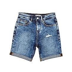 Outfit Kids - Boys' light wash denim shorts