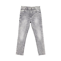 Outfit Kids - Boys' grey acid wash skinny jeans