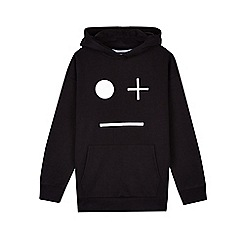 Outfit Kids - Boys' Black Hooded Face Sweat Top