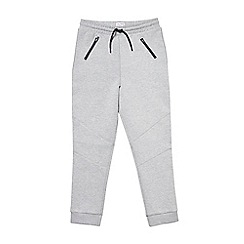 Outfit Kids - Boys' grey marl technical joggers