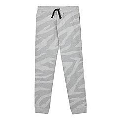Outfit Kids - Boys' Grey Zebra Print Joggers
