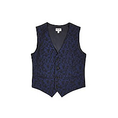 Outfit Kids - Boys' navy check waistcoat