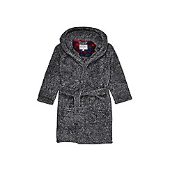 Outfit Kids - Boys' grey marl dressing gown