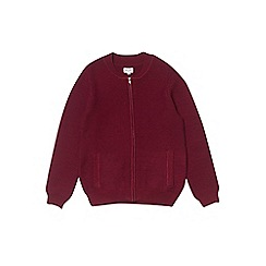 Outfit Kids - Boys' burgundy knitted cardigan