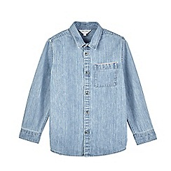 Outfit Kids - Boys' light wash denim shirt