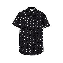 Outfit Kids - Boys' black spotty shirt