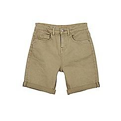 Outfit Kids - Boys' khaki denim shorts