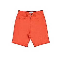 Outfit Kids - Boys' red denim shorts