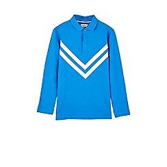 Outfit Kids - Boys' blue chevron polo shirt