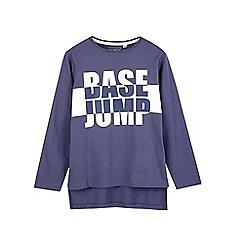 Outfit Kids - Boys' navy base jump printed t-shirt