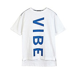 Outfit Kids - Boys' white 'vibe' t-shirt
