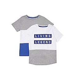 Outfit Kids - 2 pack boys'  'Living Legend' t-shirts