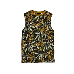 Outfit Kids - Boys' khaki leaf vest