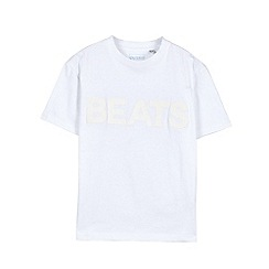 Outfit Kids - Boys' white 'beats' t-shirt