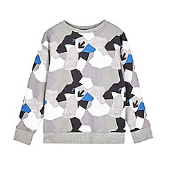 Outfit Kids - Boys' geo camouflage  sweatshirt