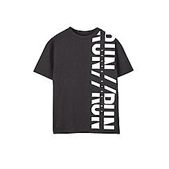 Outfit Kids - Boys' black 'Run' t-shirt