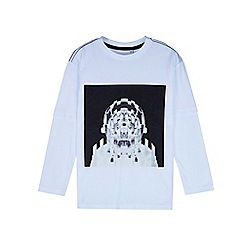 Outfit Kids - Boys' white mock layer long sleeve t-shirt