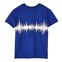 Outfit Kids - Boys' blue sound wave t-shirt