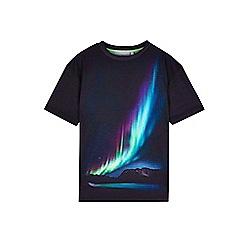 Outfit Kids - Boys' black aurora print t-shirt