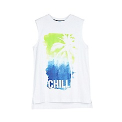 Outfit Kids - Boys' white chill t-shirt