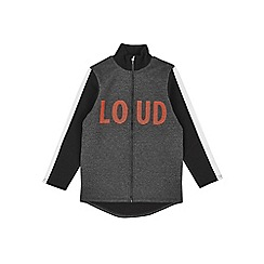 Outfit Kids - Boys' grey 'Loud' track jacket