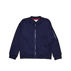 Outfit Kids - Boys' navy quilted bomber jacket