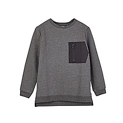 Outfit Kids - Boys' grey zip pocket sweatshirt