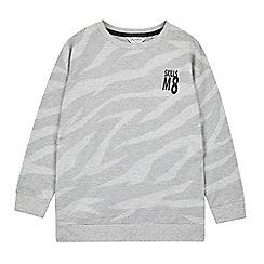 Outfit Kids - Boys' Grey Zebra Skills Sweatshirt