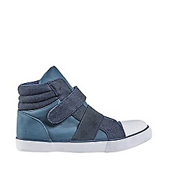 Outfit Kids - Boys' navy hi top trainers