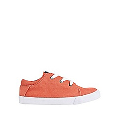 Outfit Kids - Boys' red canvas plimsolls