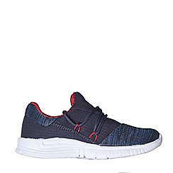 Outfit Kids - Boys' navy mesh sports trainers