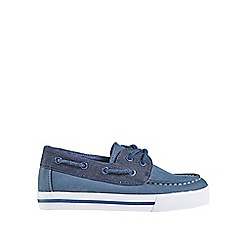 Outfit Kids - Boys' navy boat shoes